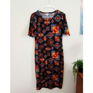 🍒2/$25 LuLaRoe Julia Dress Tribal Boho Aztec